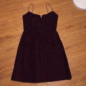 Vintage 90s velvet dress